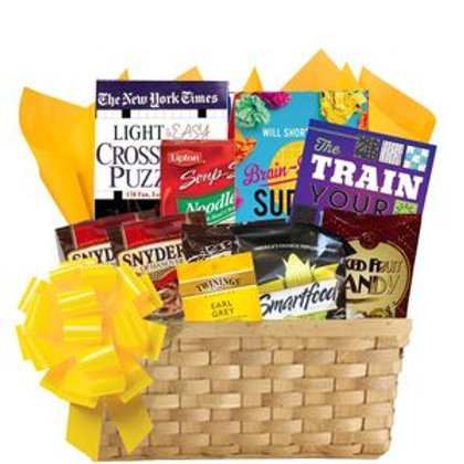 Ultimate Puzzle Book Basket
