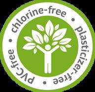 Chlorine-free en pvc-free