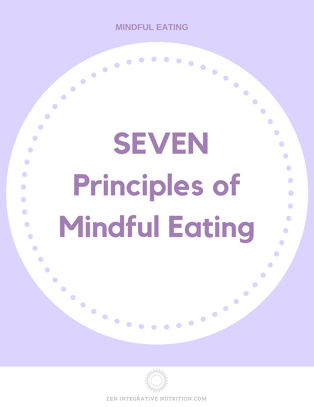 7 Principles of Mindful Eating