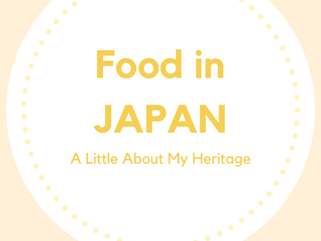 JAPAN ---A little about my heritage