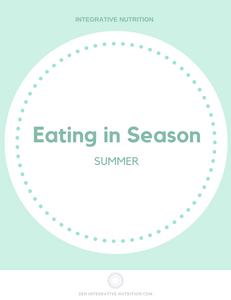 What to eat in summer? Eating in Season: Summer edition
