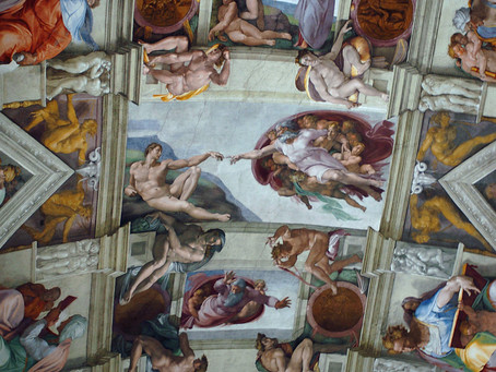 Follow Michelangelo's principle for creating beauty