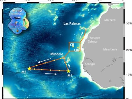 大西洋有孔虫航海その1