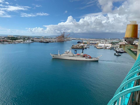 R/V Hakuho Maru departed from Honolulu