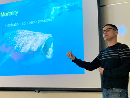 """Special lecture by Prof. Hirst """"Death of a Zooplankton"""""""