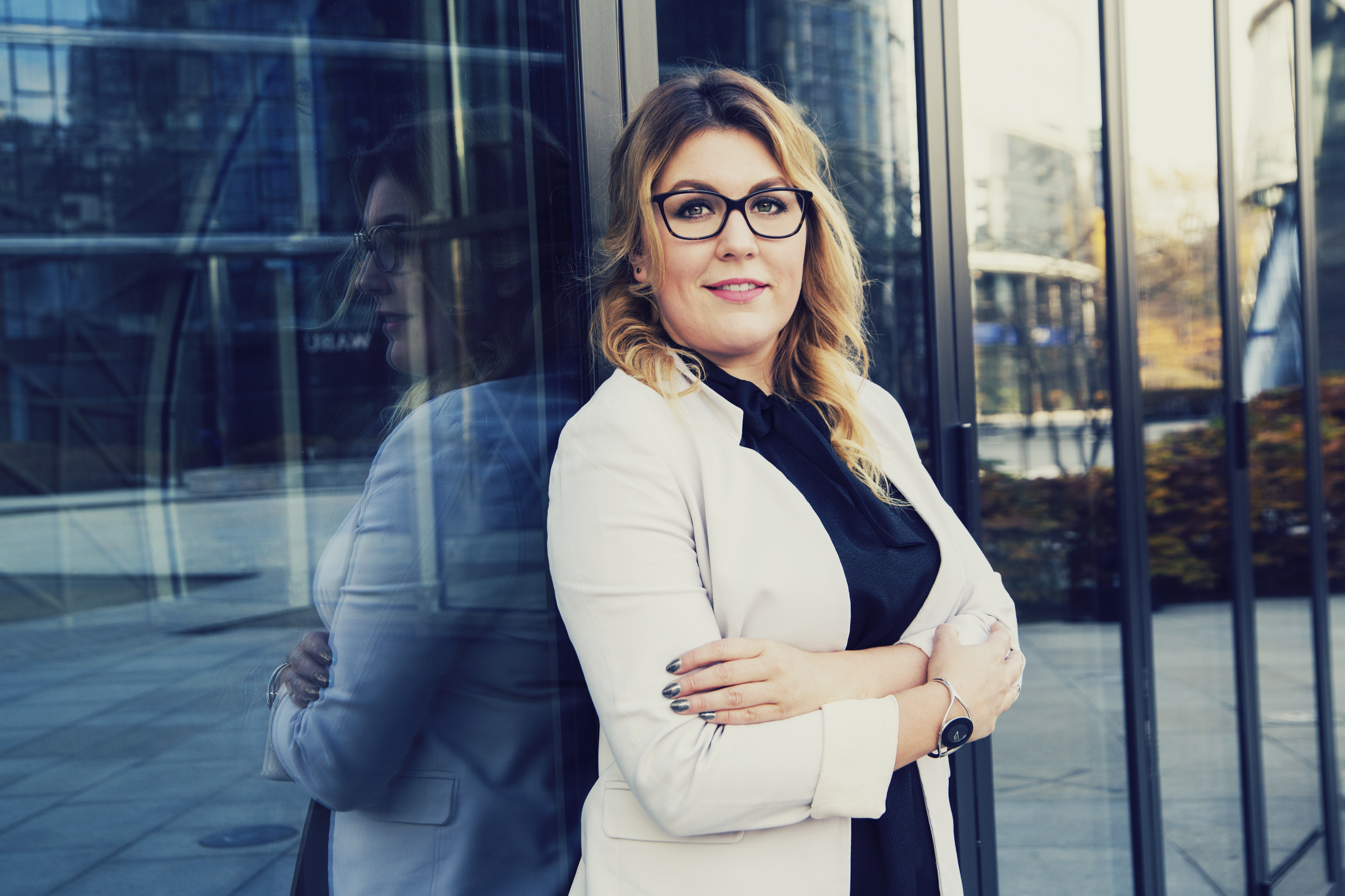 Sesja biznesowa - Joanna