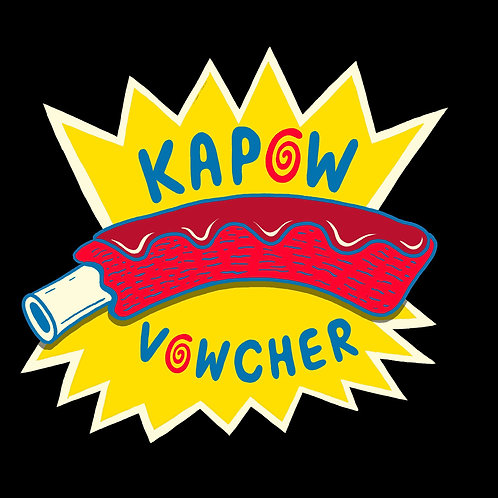 Kapow Rib Gift Vowchers