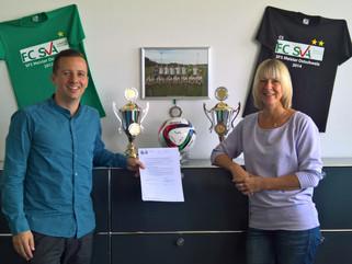 Saisonrückblick und Vertragsverlängerung mit der SVA St.Gallen