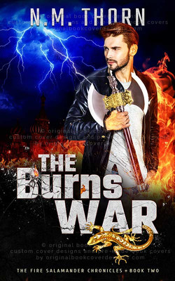 The Burns War by N.M.Thorn