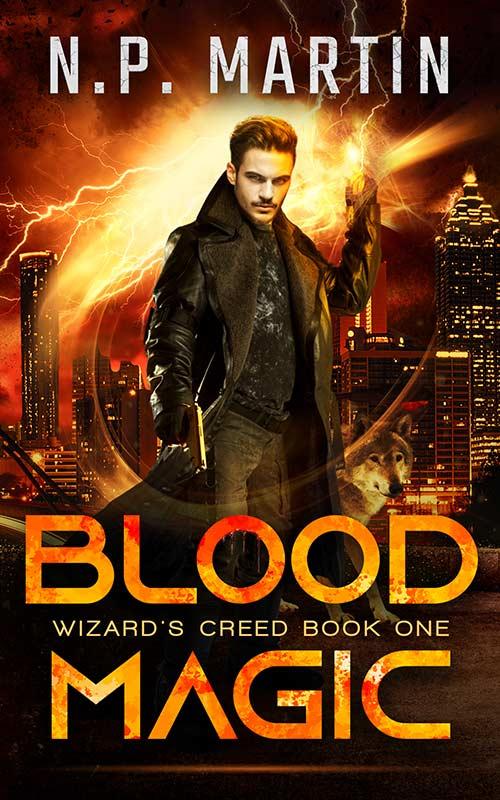 Blood Magic by N.P. Martin