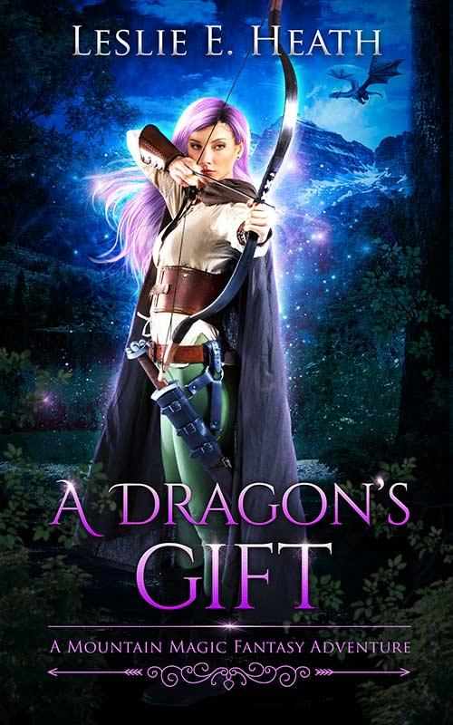 A Dragon's Gift by Leslie E. Heath