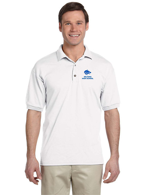 Embroidered Polo Gildan DryBlend Adult Jersey