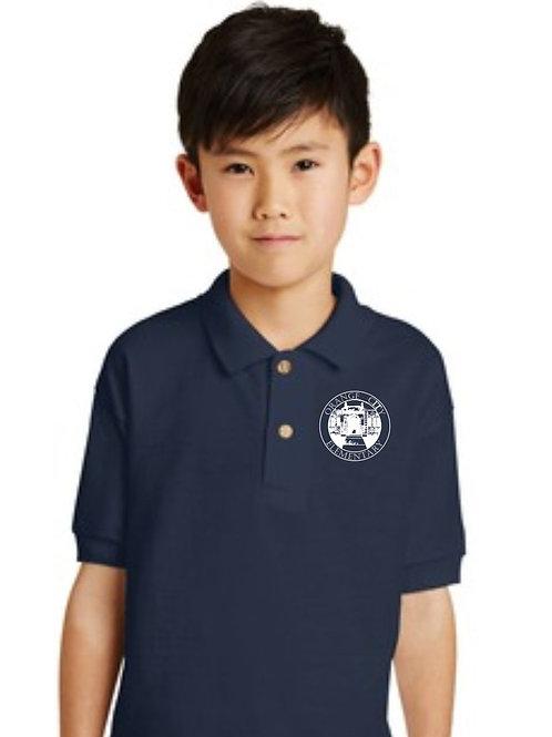 Gildan Dryblend 6-Ounce Jersey Knit Sport Shirt Polo With Logo