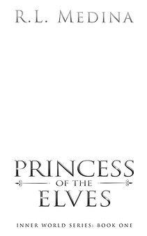 Title Page - Princess of the Elves - B&W
