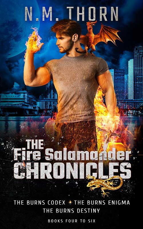 the Fire Salamander Series Box Set 2