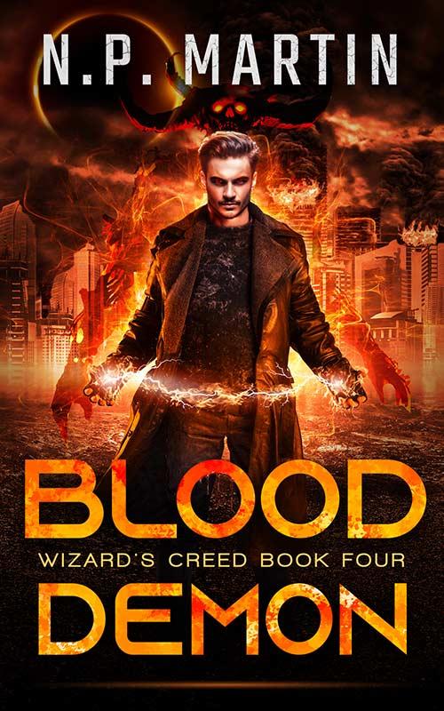 Blood Demon by N.P. Martin