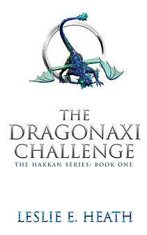 Title Page-The Dragonaxi Challenge-Color