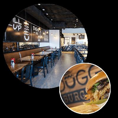 Dugg Burger, Interior Design