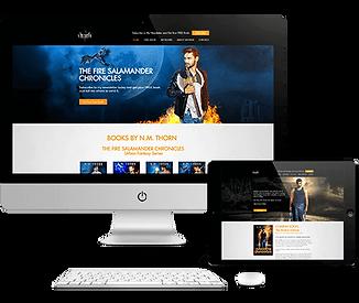 Website Design | Original Book Cover Design