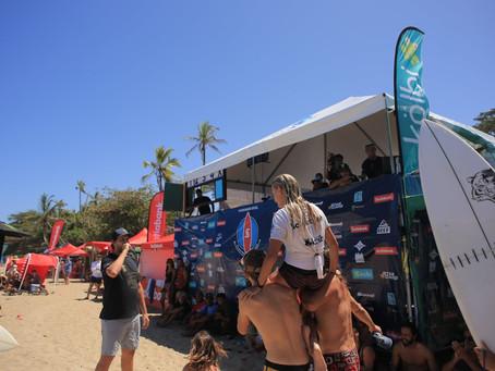 El Circuito Nacional de Surf sigue suspendido mientras tanto se activa el Verano ICODER