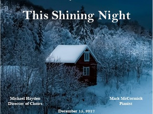 Winter Concert This Shining Night 2017 Digital Download Now Available