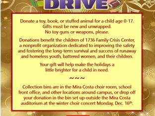Choir Holiday Toy Drive