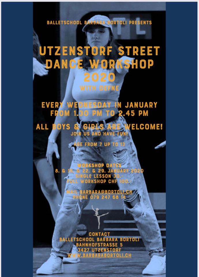 Utzenstorf Street Dance Workshop