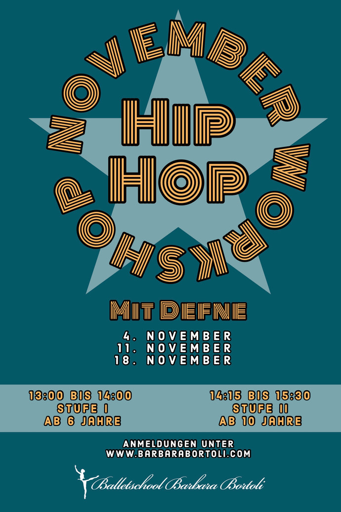 Hip Hop Workshop mit Defne