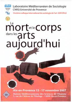 MORT ET ART 2007