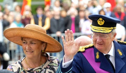 Roi Albert II  et la Reine Paola