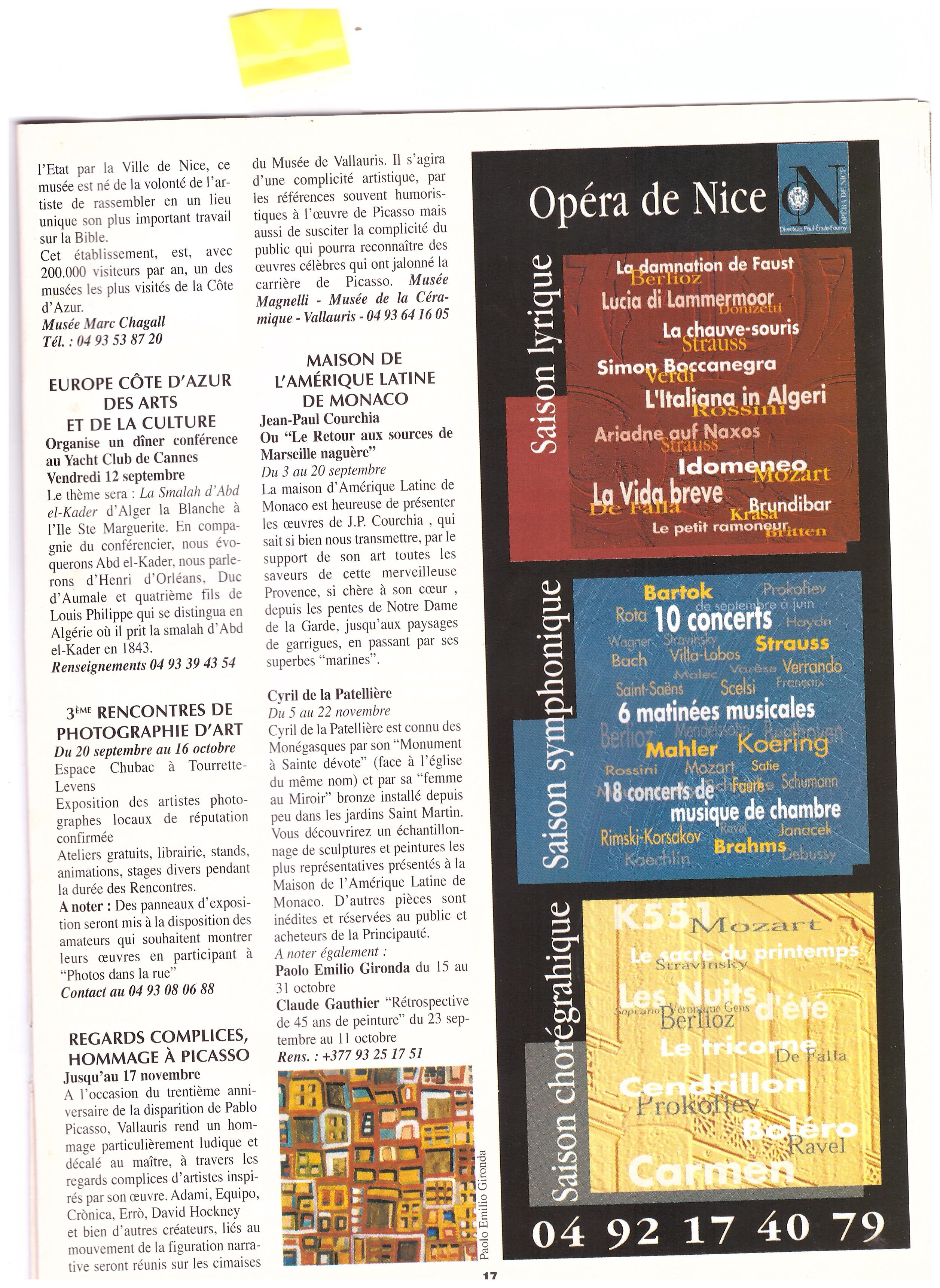2003 ART EXPO MONACO