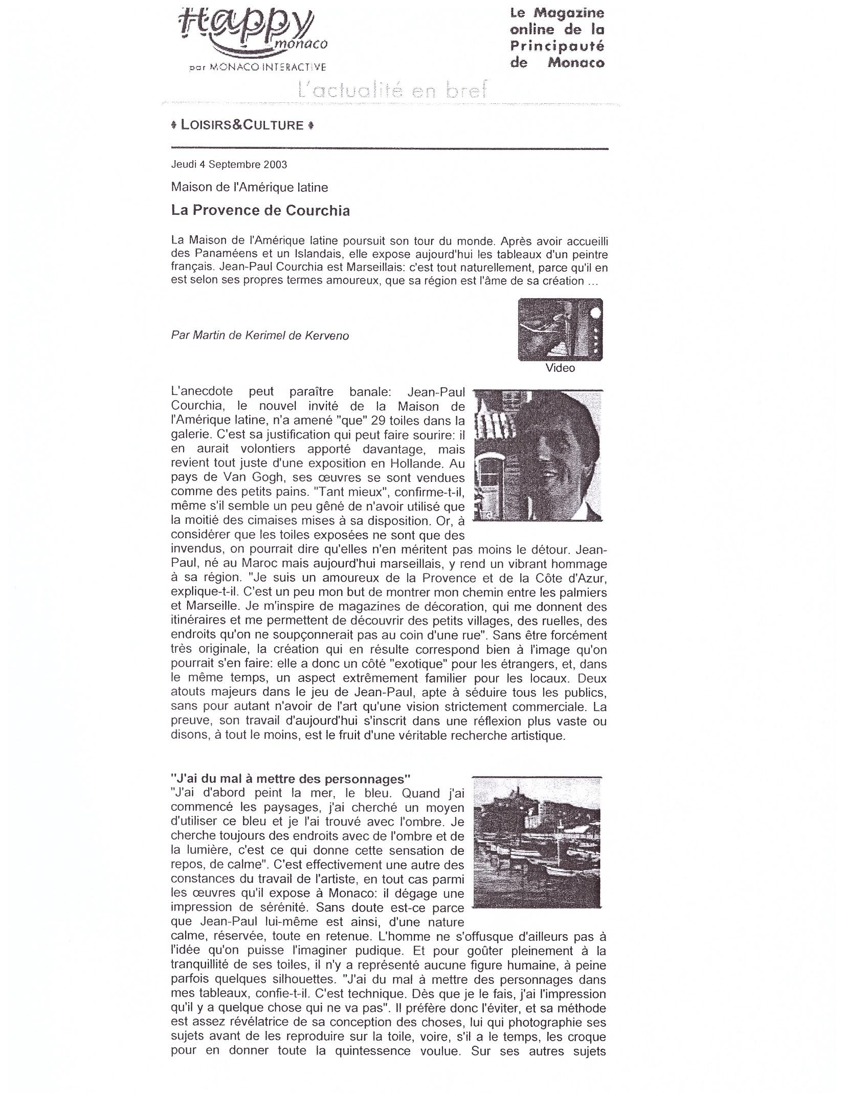 2003 MONACO P 9