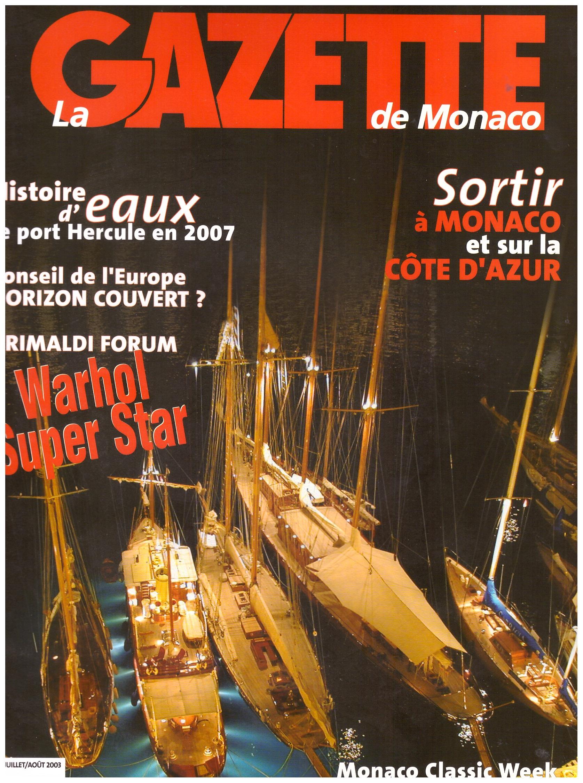 2003 GAZETTE MONACO