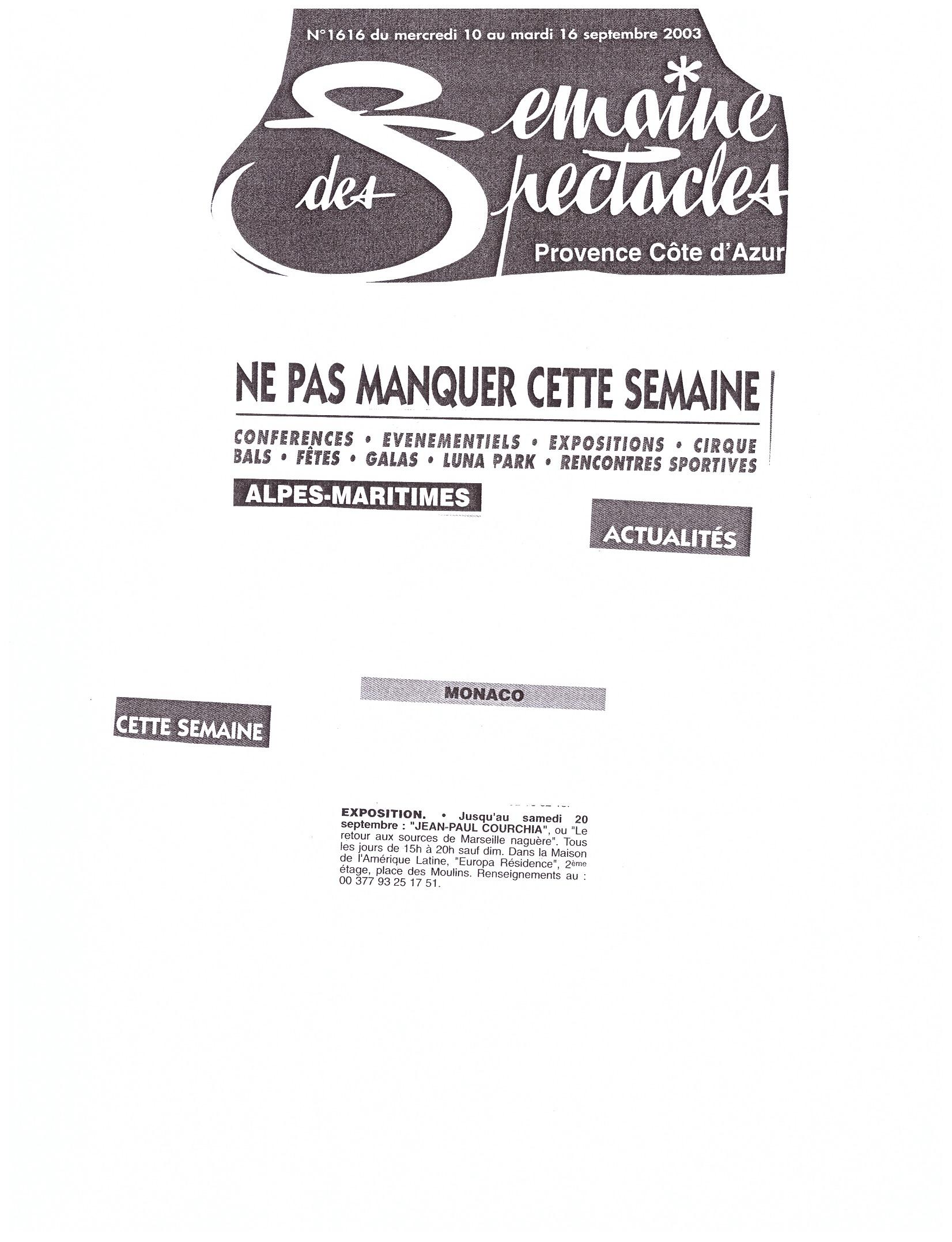 2003 MONACO P 22