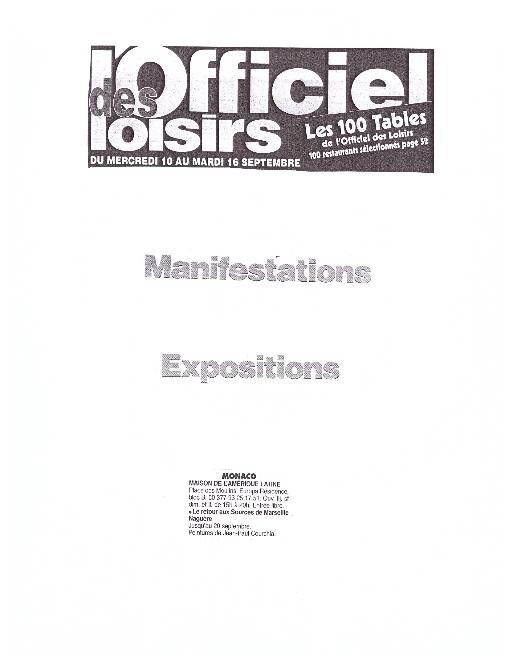 2003 MONACO P 21
