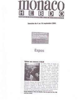 2003 MONACO P 12