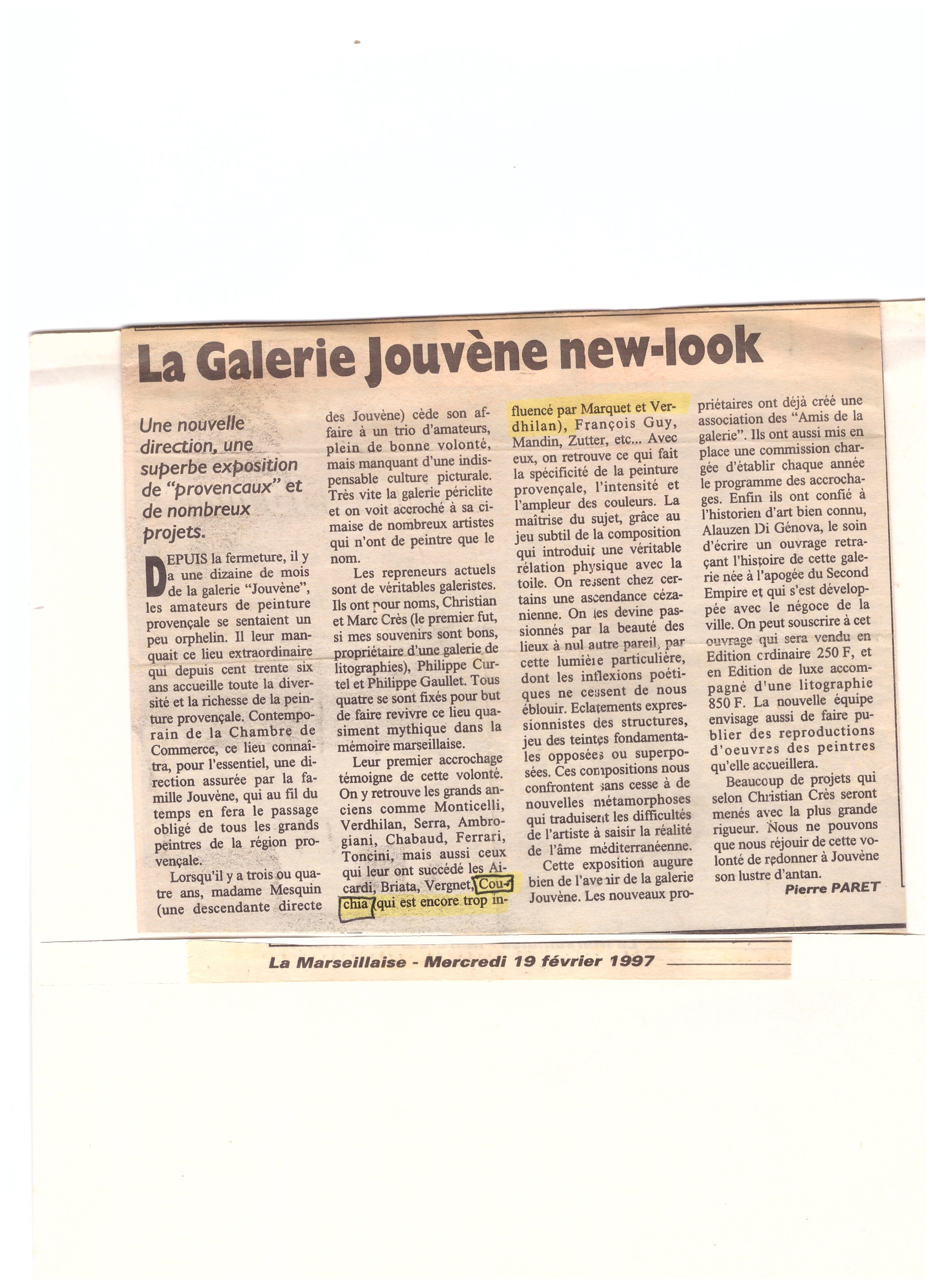 1997 JOUVENE NEW LOOK