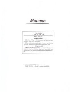 2003 MONACO P 19