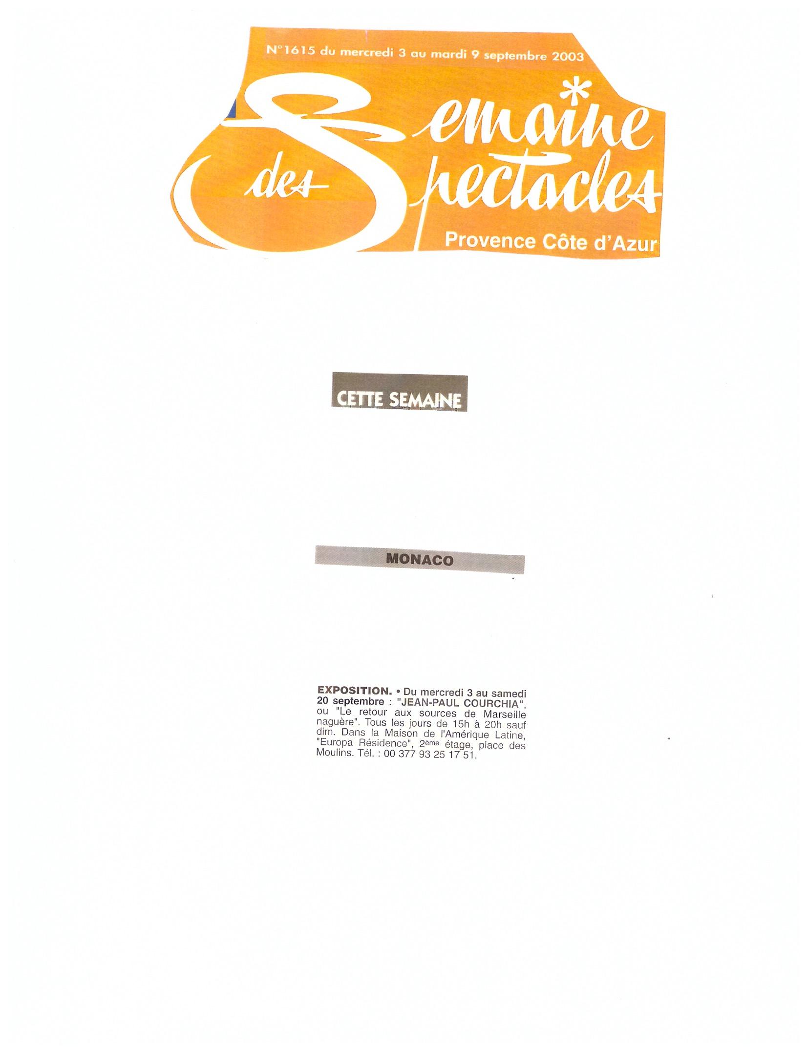 2003 MONACO P 8