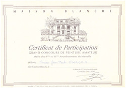 1992 DIPLOME MAISON BLANCHE