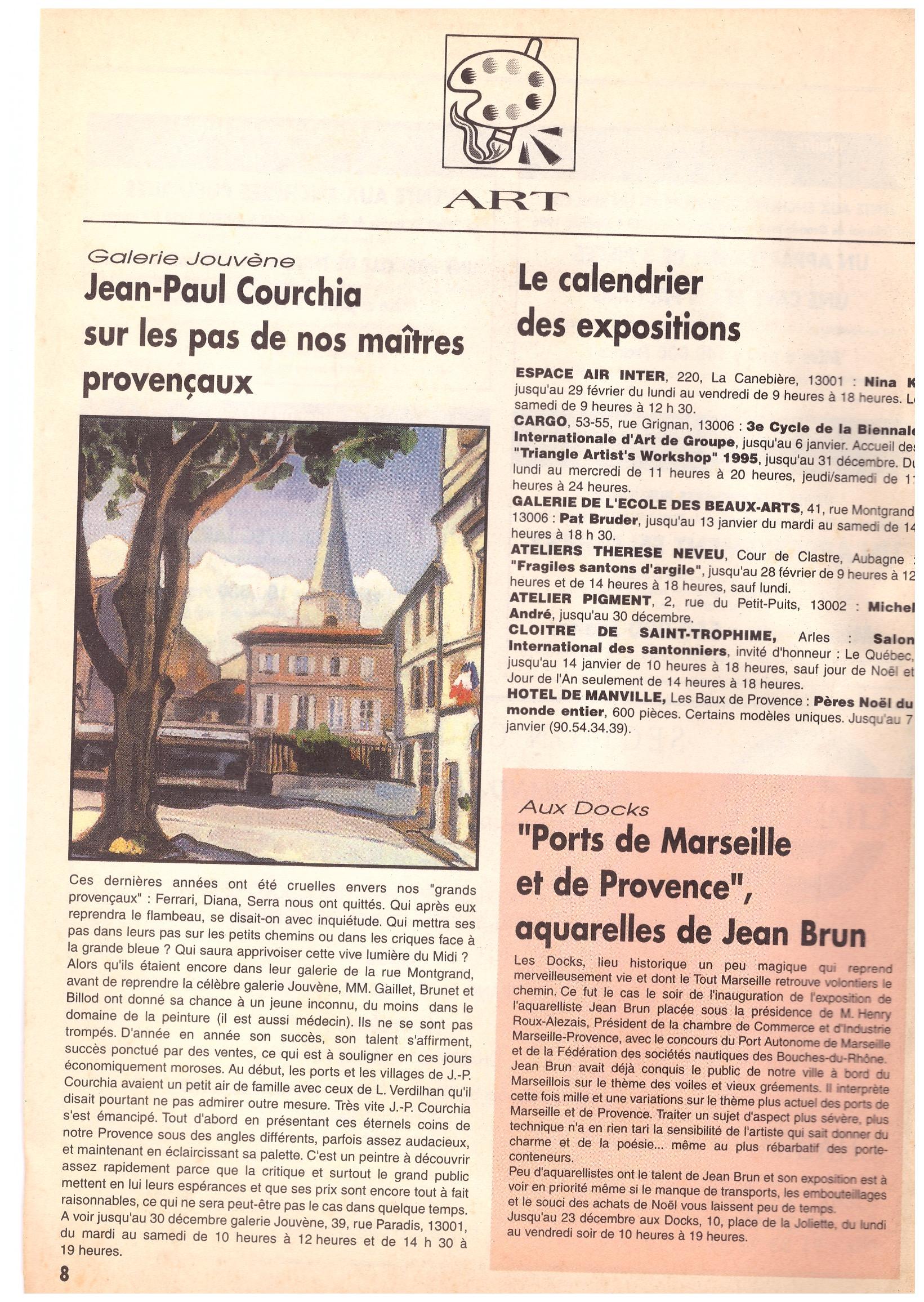 1995 NOUVELLES PUBLICATION JOUVENE EXPO