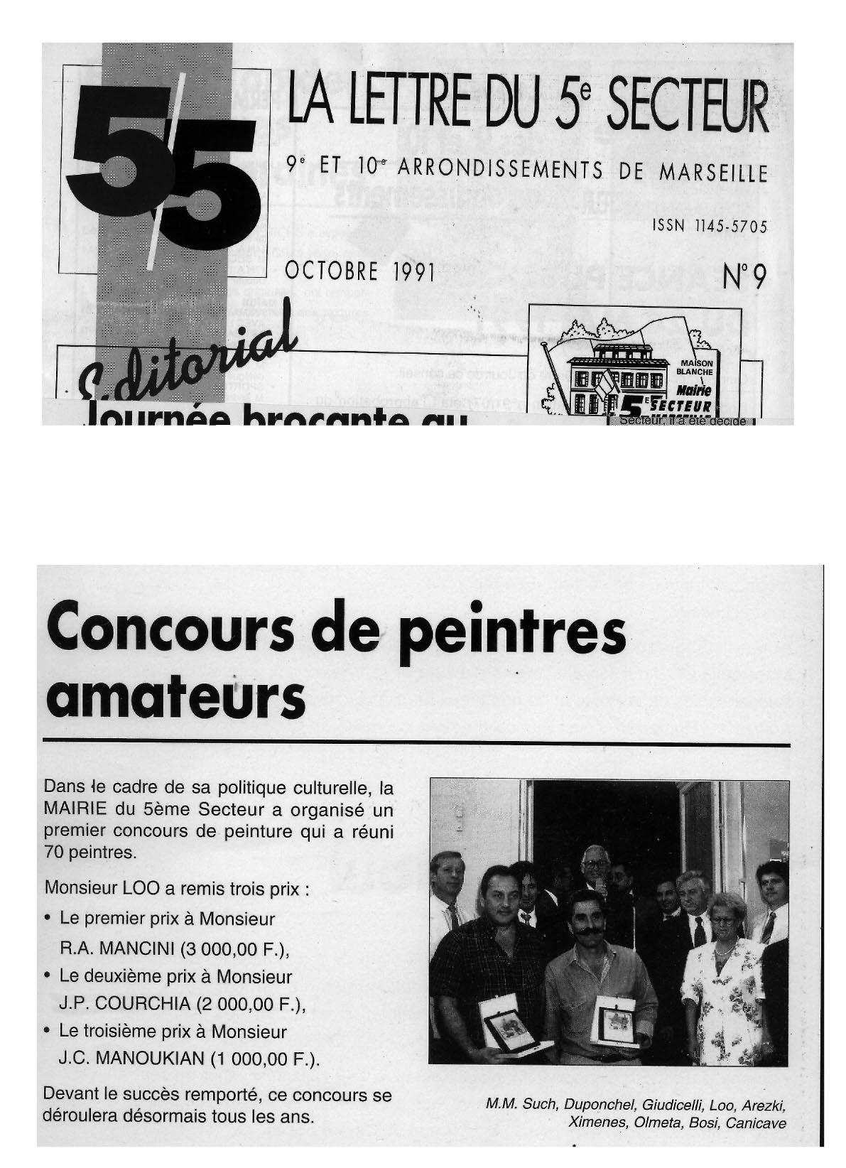 1991 CONCOURS maison blanche 2