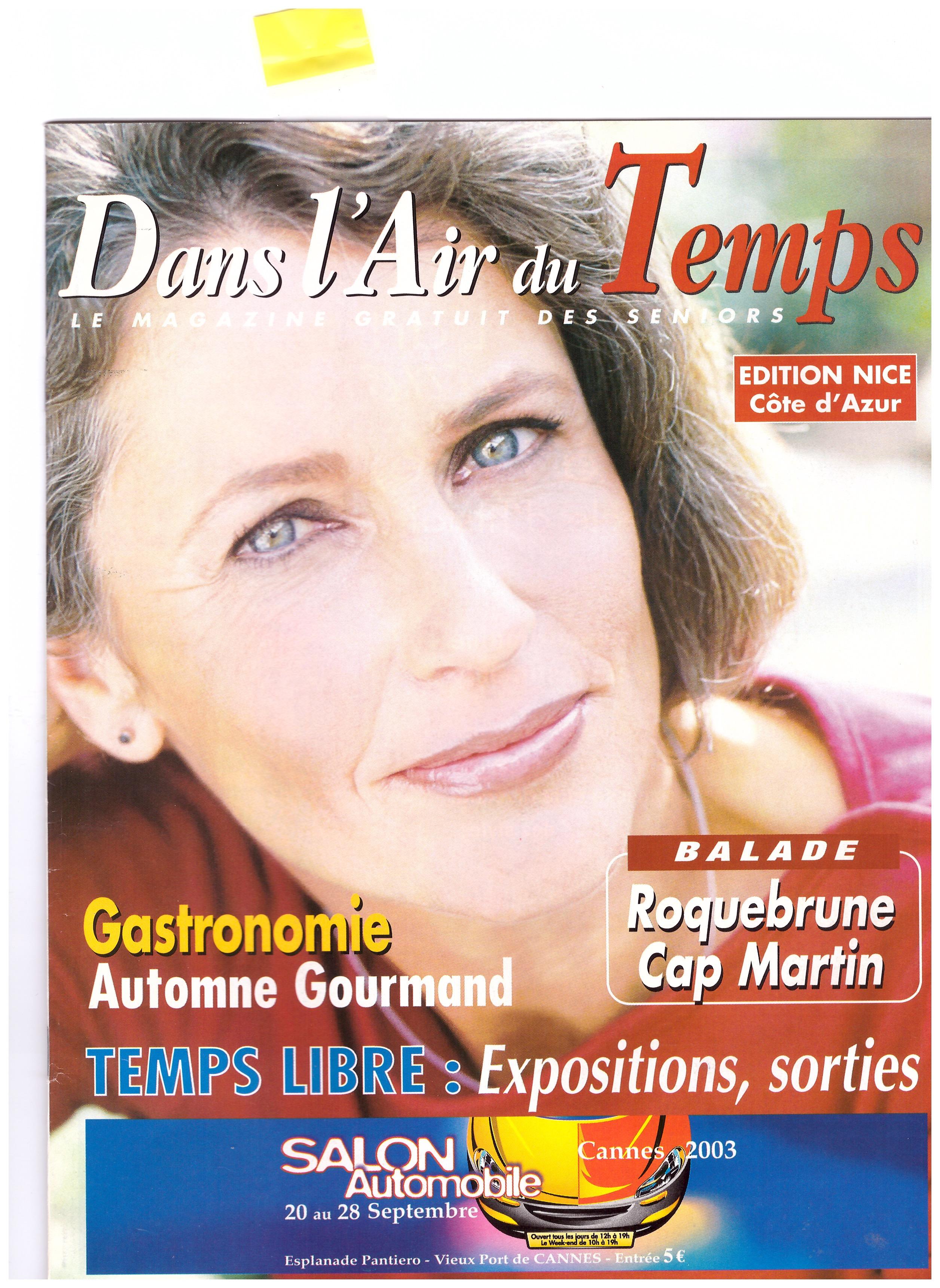 2003 MONACO DANS L AIR DU TEMPS