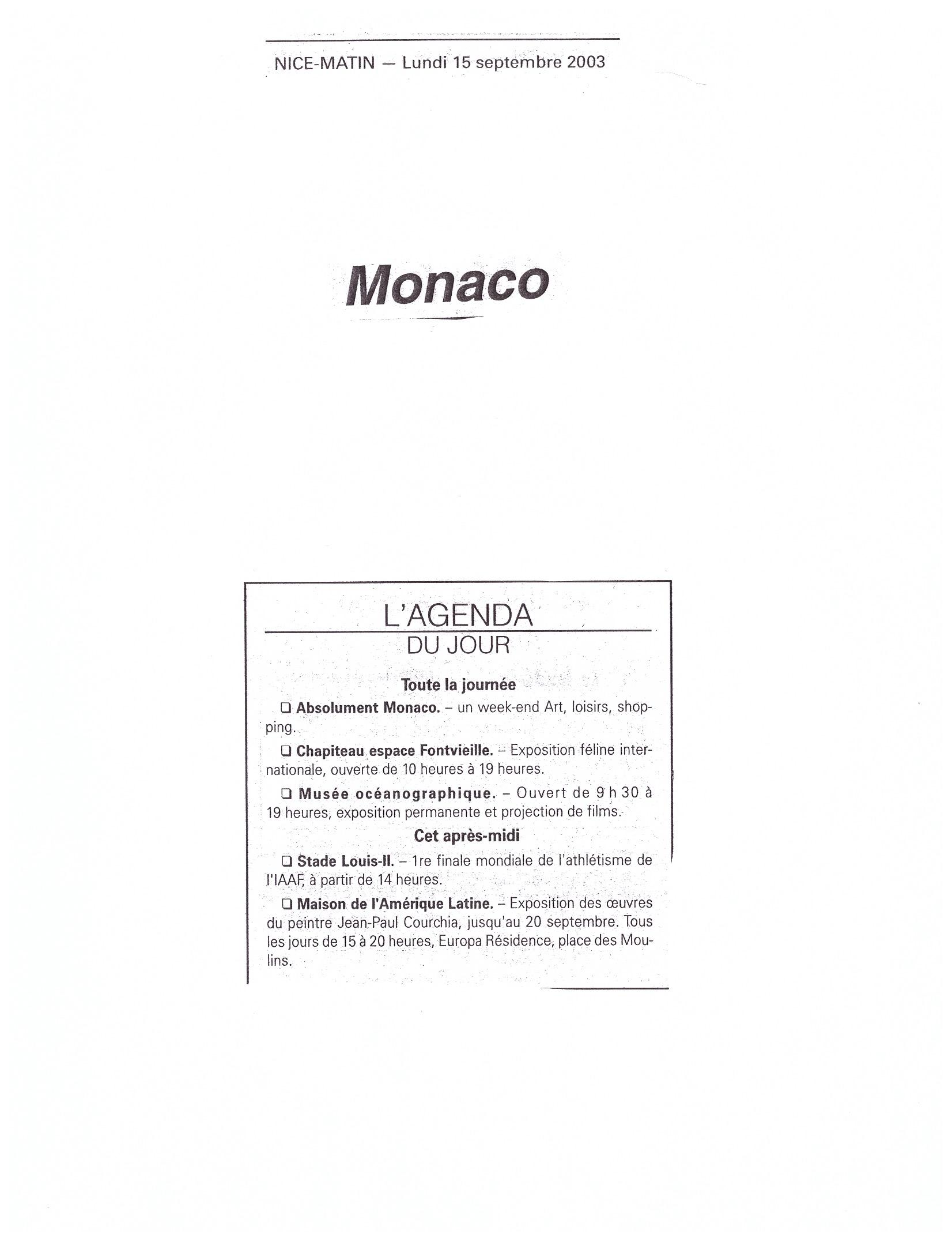 2003 MONACO P 26