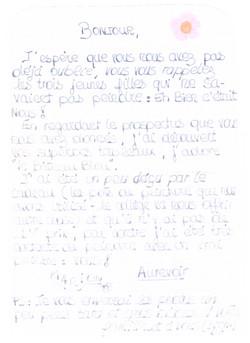 2000 20 siecle marseille lettre des eleves