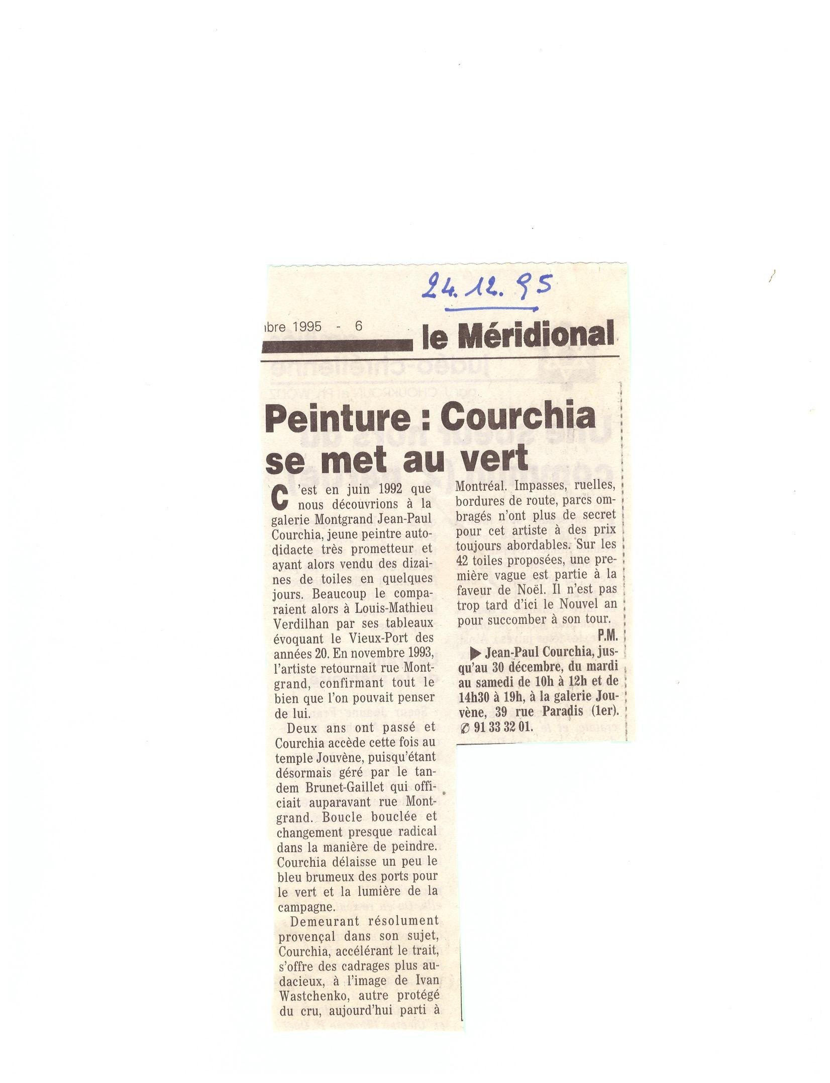 1995 COURCHIA SE MET AU VERT - copie