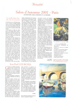 2001 LA COTE DES ARTS