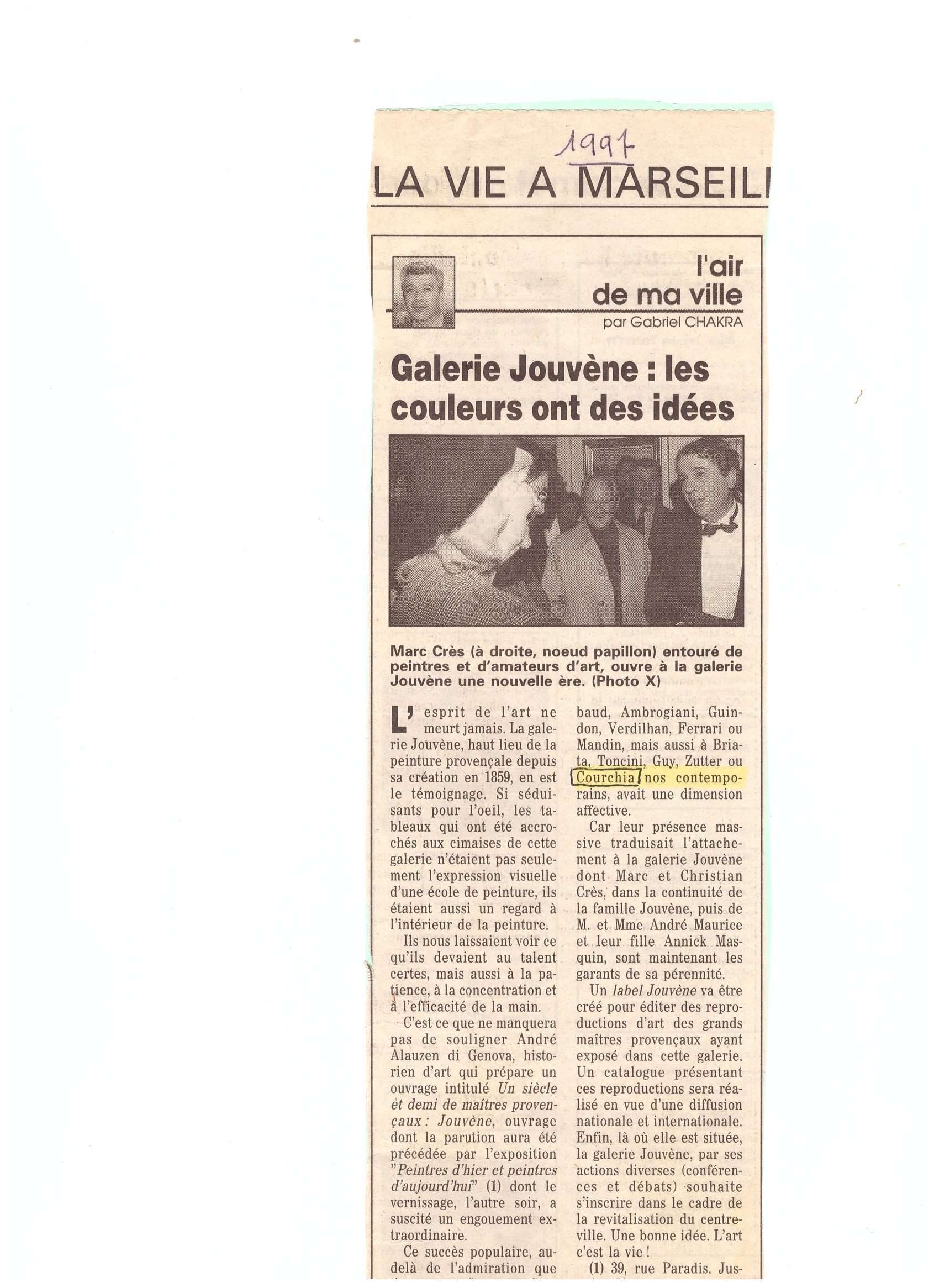 1997 ARTICLE JOUVENE
