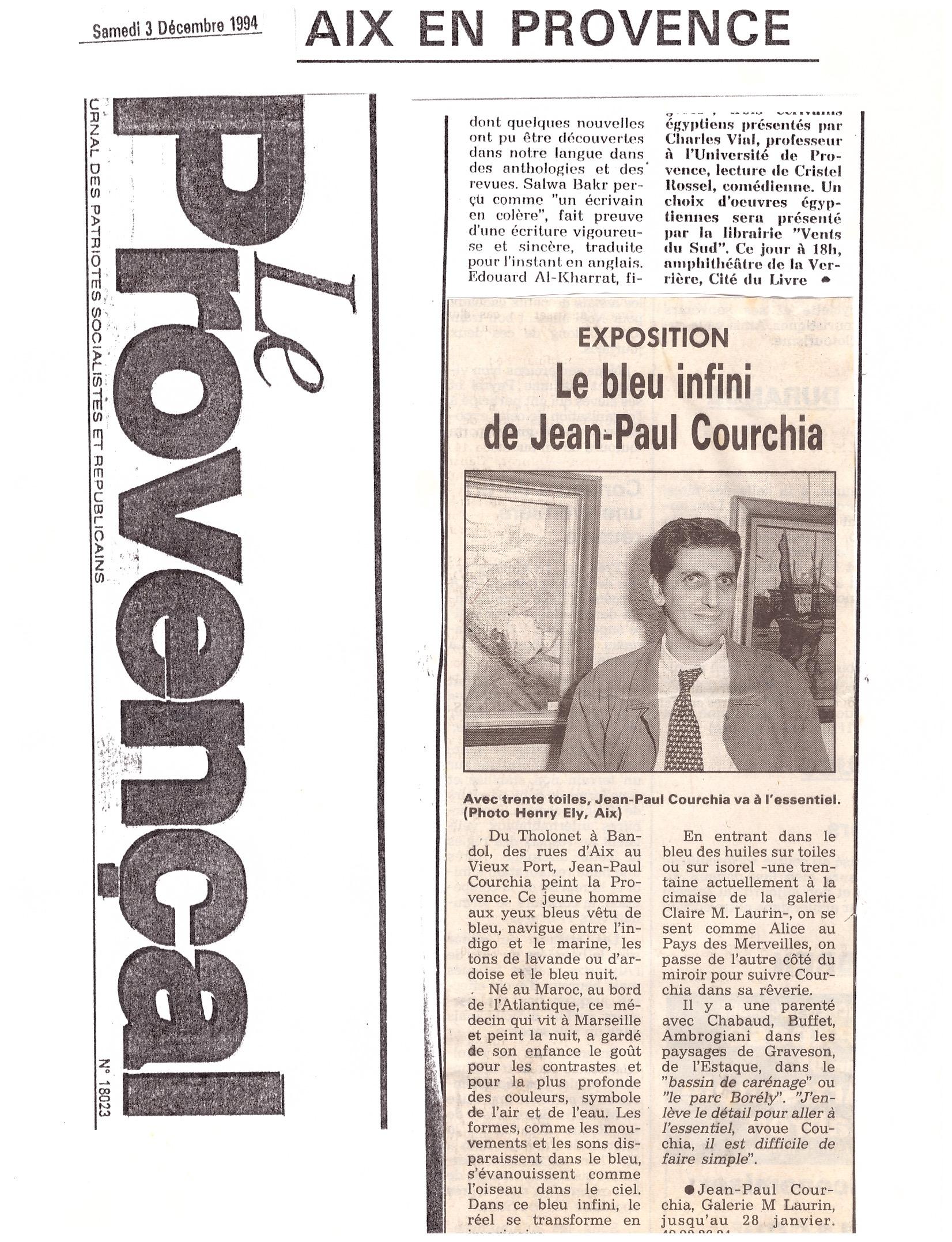 1994 LE PROVENCAL AIX