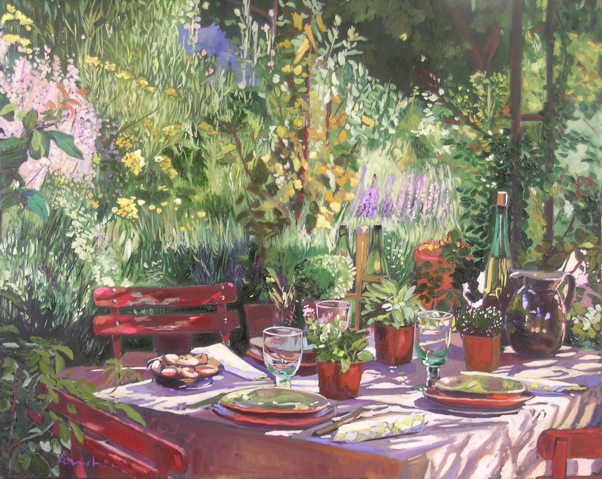 la table fleurie 2007